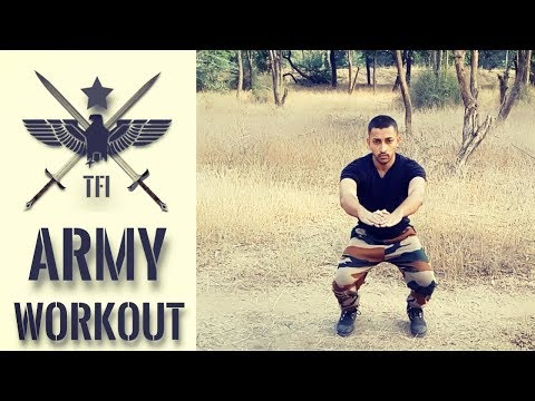 Day 2 Hold Army Training Exercises | Military Workout