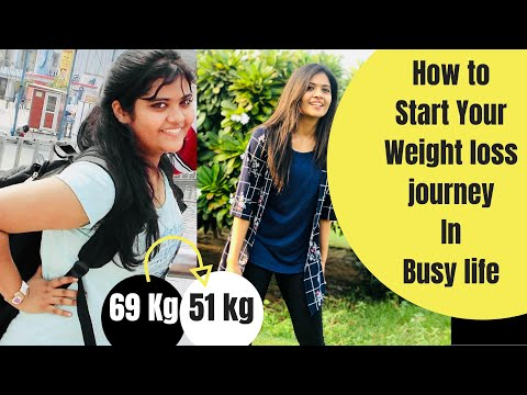 How to Start Your Weight Loss Journey? | Weight loss Motivation in Busy Life | Somya Luhadia
