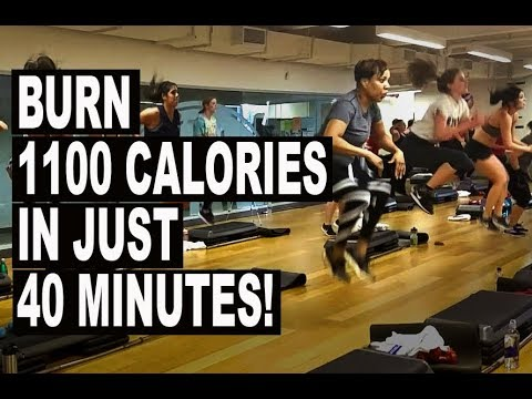 HOT!!! 🔥🔥🔥 Explosive Cardio Kickboxing Workout! 1100 Calories Zapped!