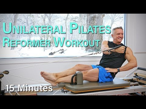 Unilateral Pilates Reformer Workout – 15 Minutes