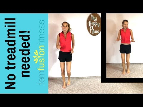 Build jogging endurance! Medium-Impact Indoor Cardio Workout
