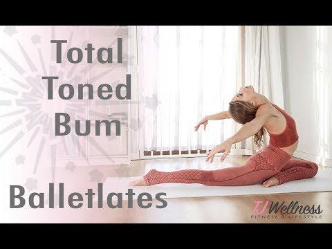 Total Toned Bum ♥ Balletlates | Ballet Workout | Pilates Workout | Yoga