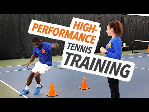 High Performance Tennis Training – Workout For Speed, Agility, Quickness and Conditioning
