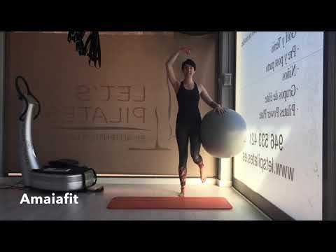 PILATES CON FITBALL