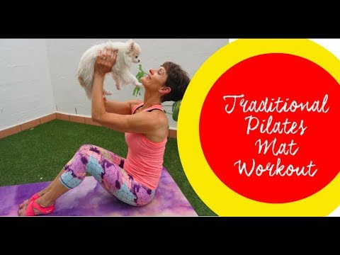 Ange's Pilates Traditional Mat Workout