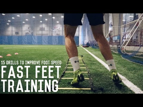 15 Fast Footwork Exercises   Increase Your Foot Speed With These Speed Ladder Drills