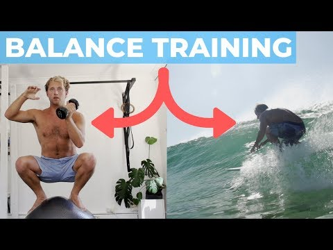 THE SURFER'S BODY #3   Improve Your Balance For Surfing   Exercises & Tutorials