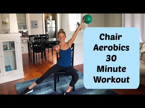 Chair Aerobics Workout. 30 Minute Chair Fitness Class