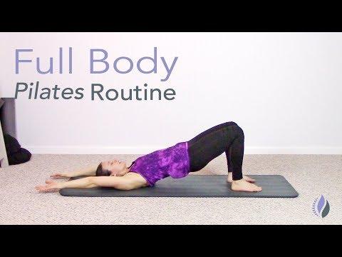 Morning Full Body Pilates Routine