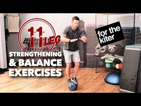 Leg & Balance Training For The Kiter (11 Exercises)
