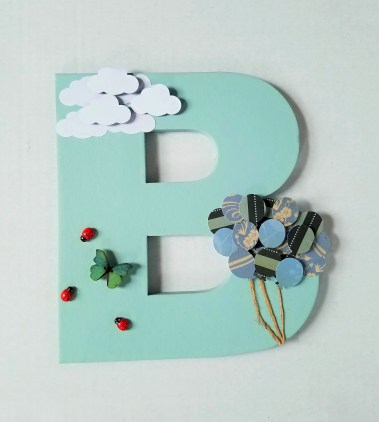 Chipboard Letter 6