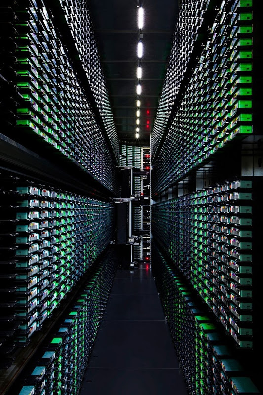 Take a Look – Google Data Centre 9