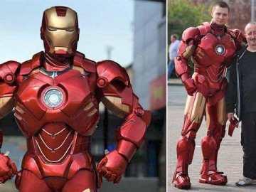 US Iron man suit