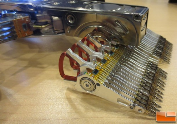 F1 Car made from hard disks 3