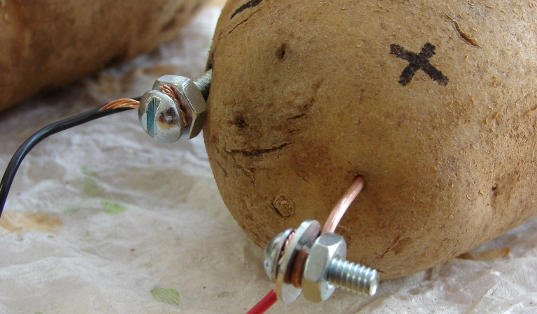 Potatoes Can Be Used To Charge Your Gadgets