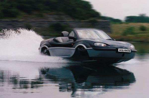 Gibbs Aquada as 7 amphibious cars highlight