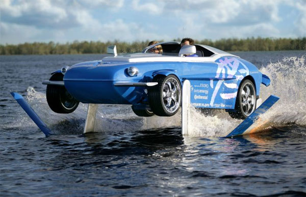 Rinspeed Splash as 7 amphibious cars highlight
