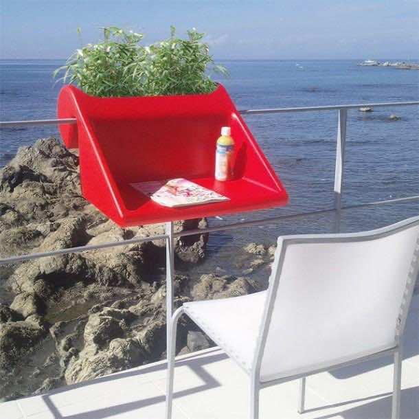 Balcony Handrail Table