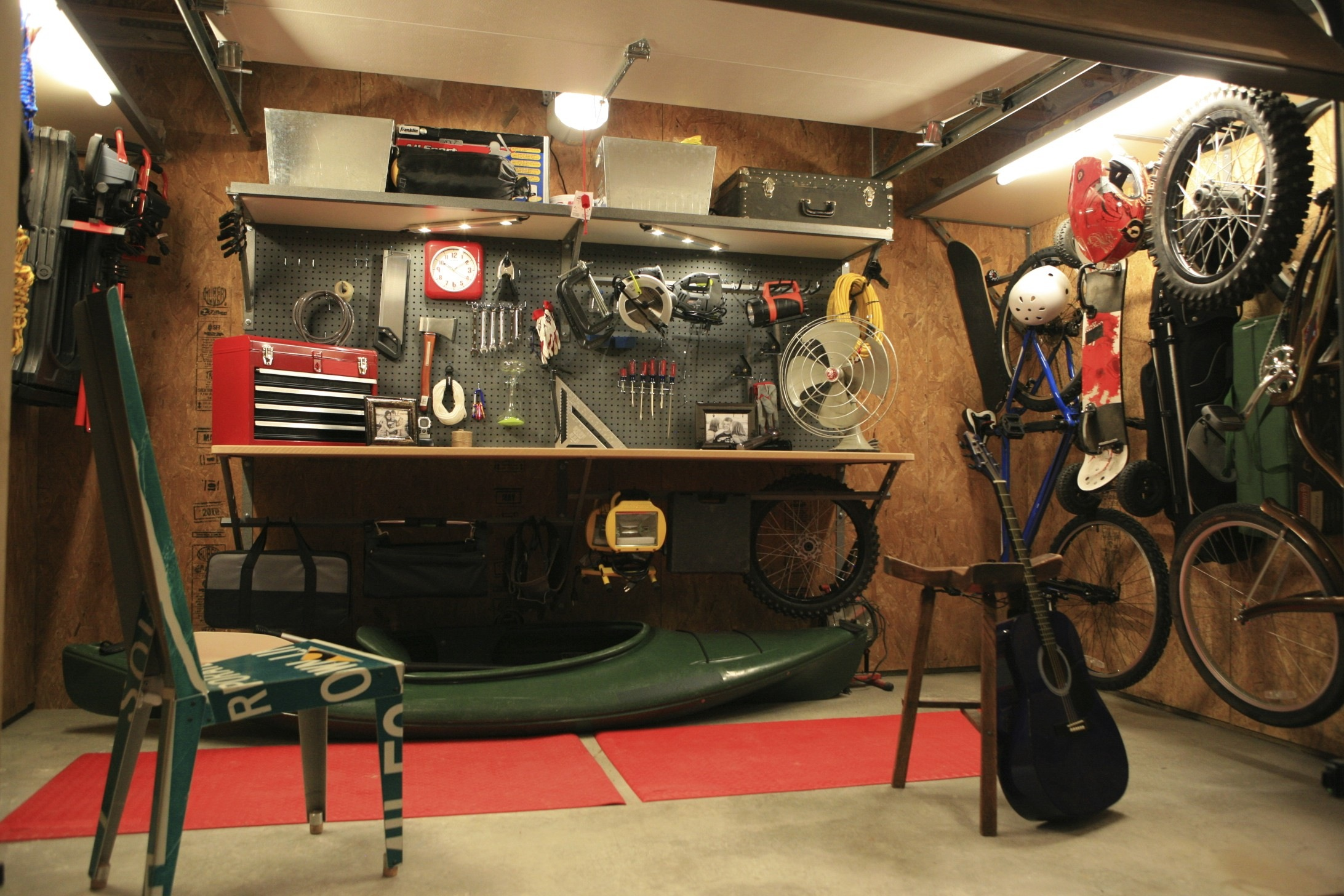 25 Garage Design Ideas For Your Home on Garage Decorating Ideas  id=76768