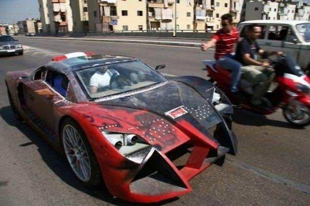 DIY Racing Supercar11