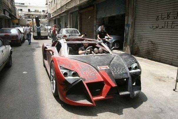 DIY Racing Supercar9