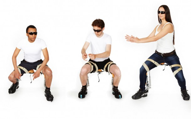 The Chairless Chair noonee