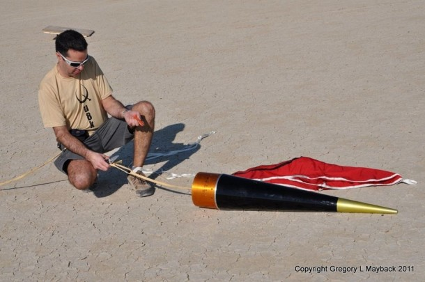 Homemade Rocket Reaches a Height of 121,000 ft20