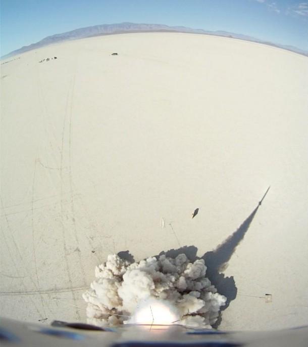 Homemade Rocket Reaches a Height of 121,000 ft24