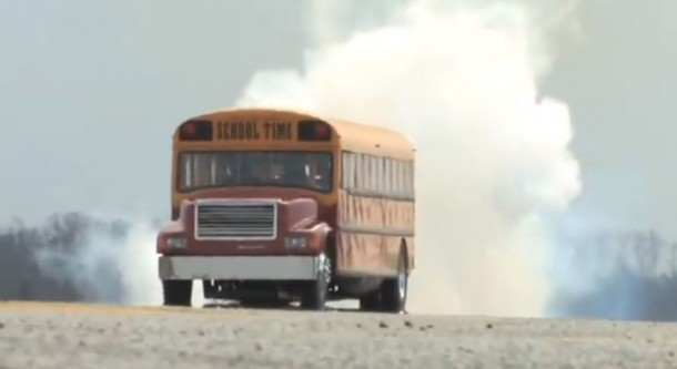 School-Time – The Jet Powered School Bus