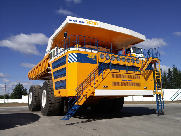 BelAZ 75710 – World's Largest Dump Truck