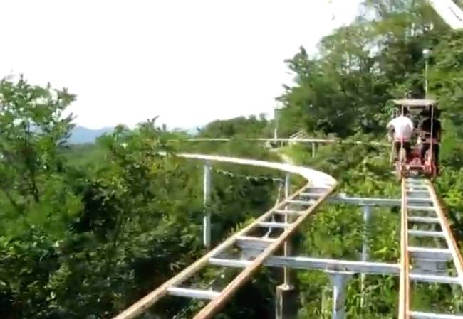 SkyCycle – The most Terrifying Roller Coaster Ride5