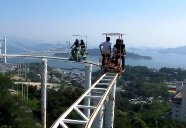 SkyCycle – The most Terrifying Roller Coaster Ride9