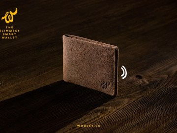 Smart Wallet that You Will Never Lose - Woolet 3