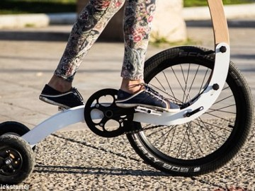 Halfbike – Single Wheel and a Stick For Steering5