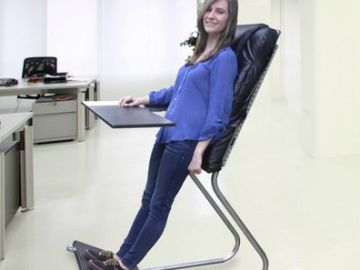 LeanChair – The Compromise Between Sitting And Standing