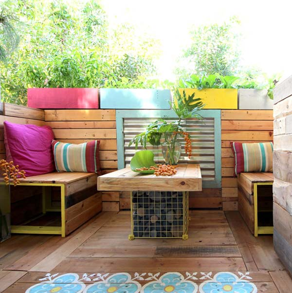 26 Amazing Outdoor Seating Ideas 25