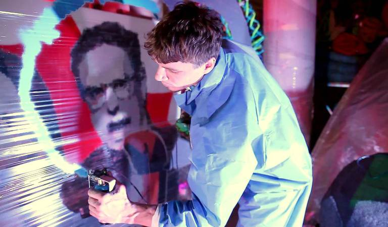 SprayPrinter Can Make Everyone A Great Graffiti Artist