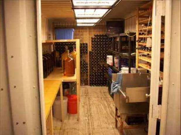 shipping continer basement17