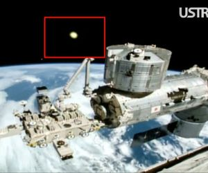 Soaring Beams Of Light Emerging From The Earth Captured In Live Feed Of International Space Station_Image 2