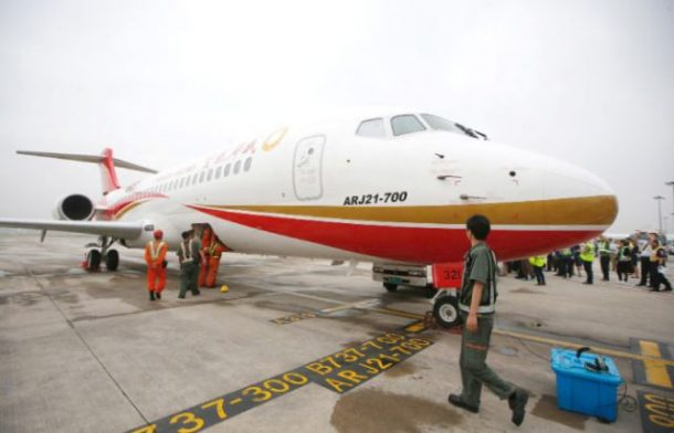 Made In China Plane Makes First Commercial Flight_Image 3