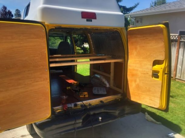 This Stylish And Comfy Camping Mobile Was Once A Rusty, Old Cargo Van_Image 16