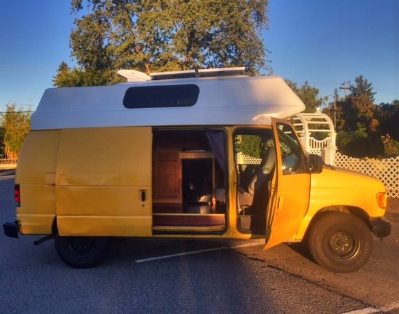 This Stylish And Comfy Camping Mobile Was Once A Rusty, Old Cargo Van_Image 24