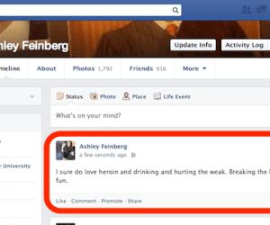 embarrassing posts facebook