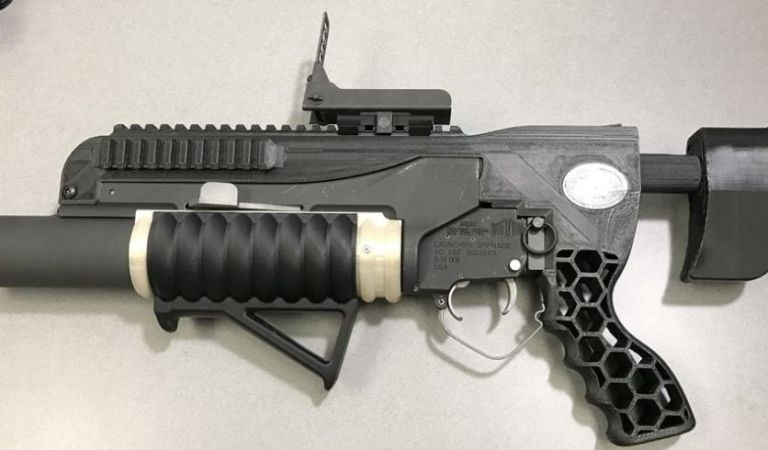 RAMBO Is The Newest 3D Printed Grenade Launcher Of The United States Army