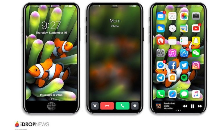 Concept Design Of Gorgeous Touch Bar Display Will Make You Drool Over The New iPhone 8