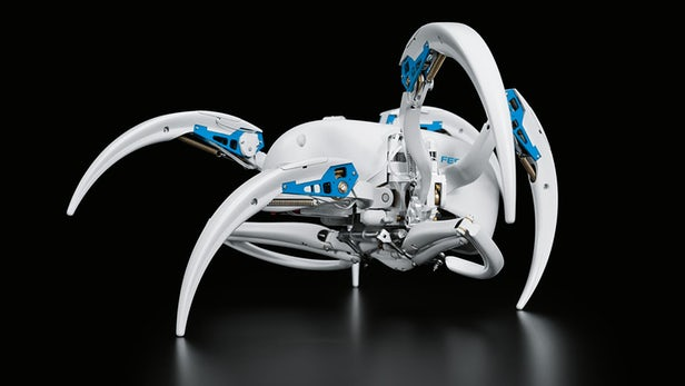 Festo Unveils New Robotic Animals – A Rolling Spider And A Flying Bat