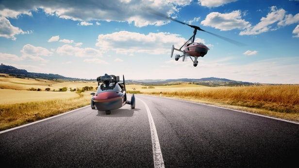 Say Hello To Pal-V : The World's First $600,000 Production-Ready Flying Car