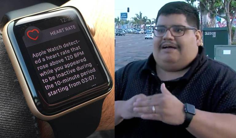 Heart Rate App In Apple Watch Saves Another Life
