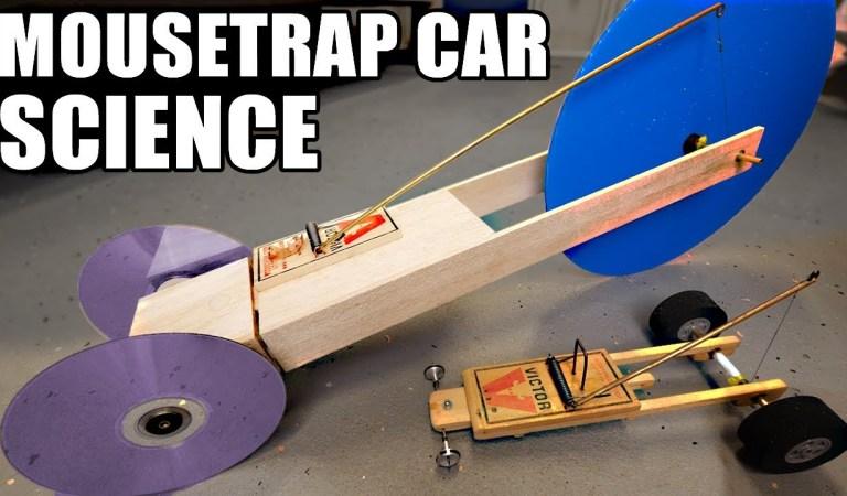 Ex-NASA Engineer Creates A Car Using A Mousetrap