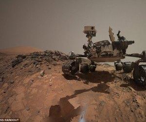curiosity rover NASA